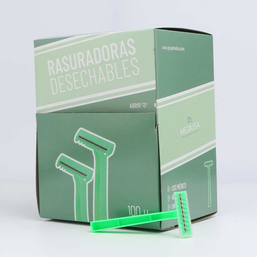RASURADORAS DESECHABLES 2 HOJAS
